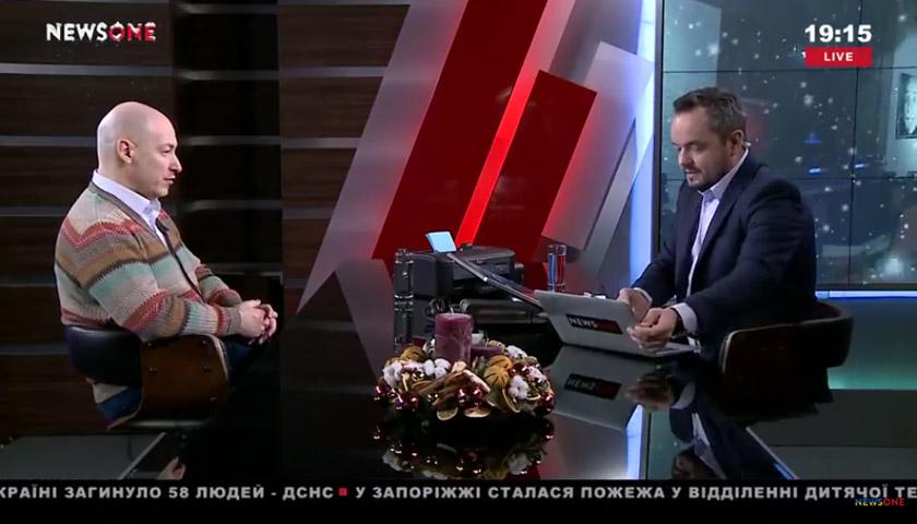 Прямий ефір з Василем Головановим на NewsОne