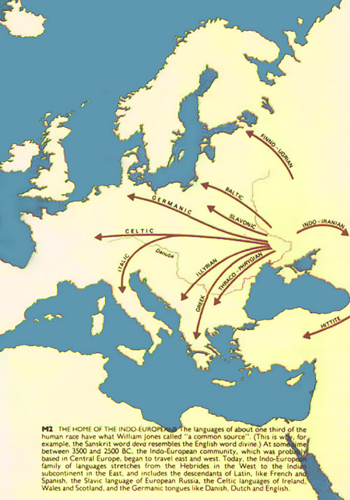 Карта англійських дослідників