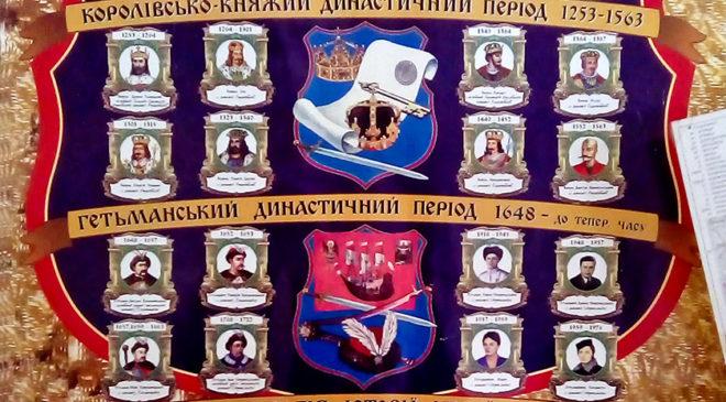 Панно «Династична історія України»