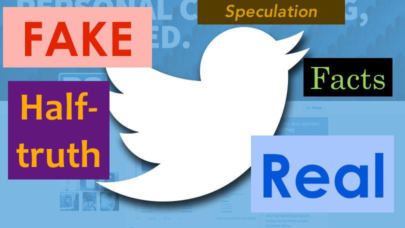 Відмінності у поширенні правдивих та фальшивих новин у Твітері