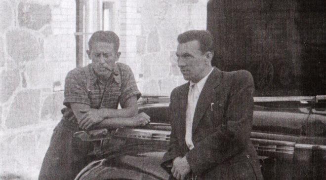Іван Мец (праворуч)