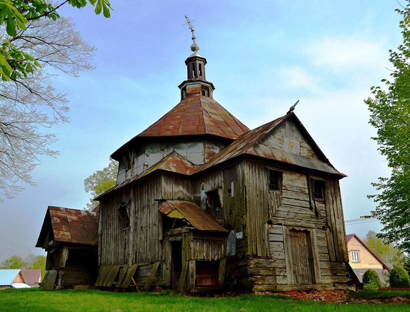 Церка у селі М'якиш Старий