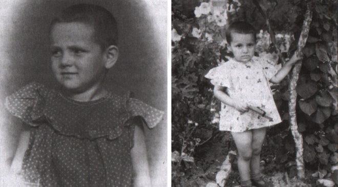 Донька Віра у 1952 році