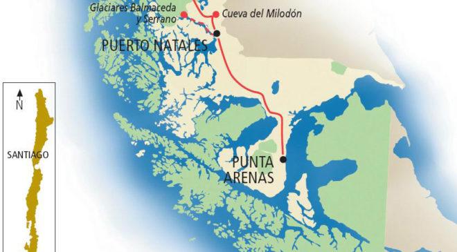 Географічне положення Чилі