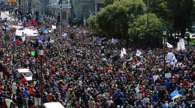 Протест у Пунта-Аренас