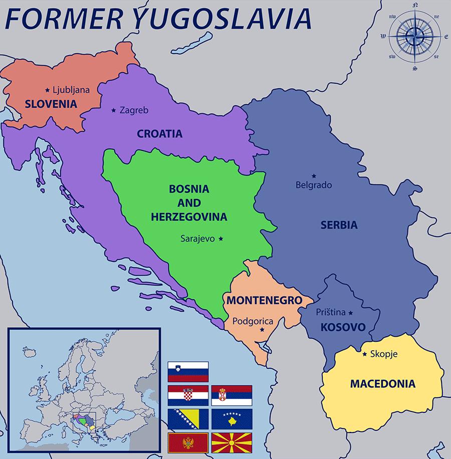 Незалежні республіки на руїнах Югославії