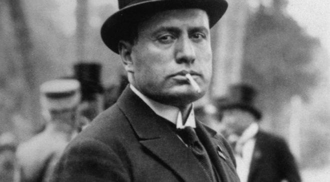 Беніто Муссоліні 24 травня 1923 р. в Римі