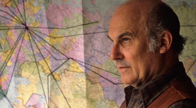 Капусцінський і мапа