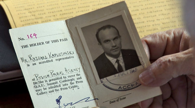 Міжнародне журналістське посвідчення Ришарда Капусцінського