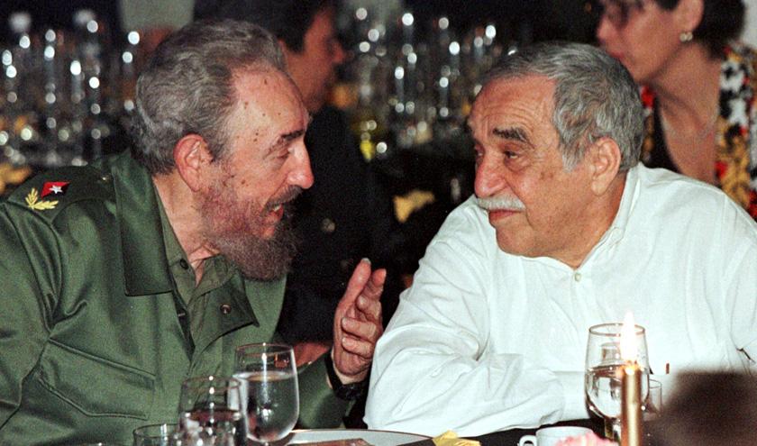 Фідель Кастро і Габріель Гарсіа Маркес