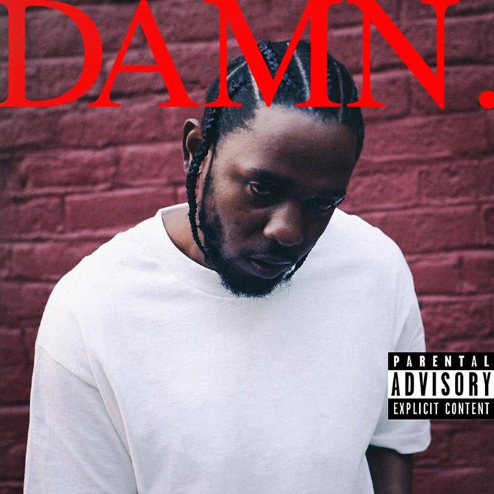 Обкладинка альбому «DAMN»
