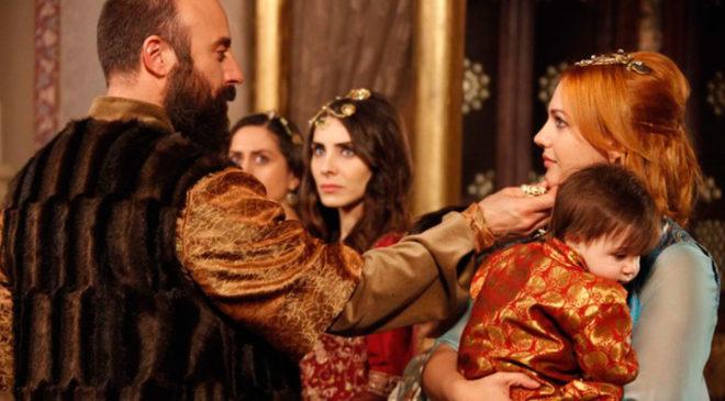 Кадр із серіалу «Величне століття. Роксолана»