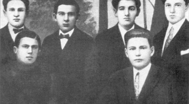 Антонич між українськими студентами Сяноцької гімназії