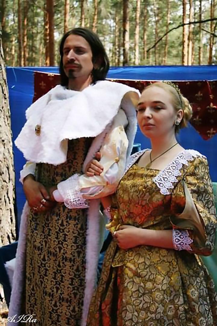 Гра «Війна троянди і сутани». Людовік XIII та Анна Австрійська