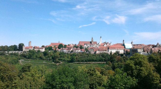 Німецький Ротенбург-на-Таубері: враження та думки