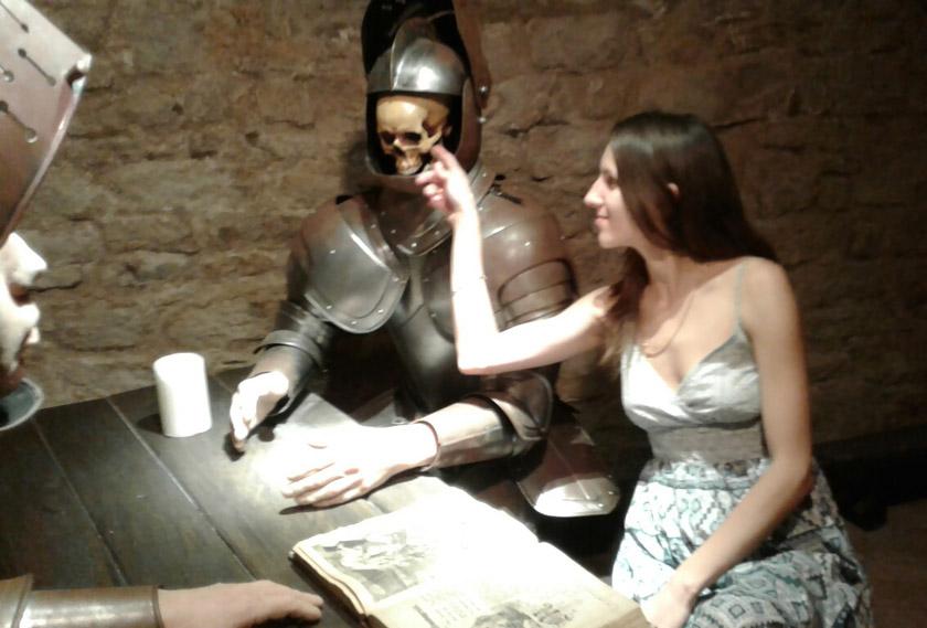 У середньовічному підземеллі