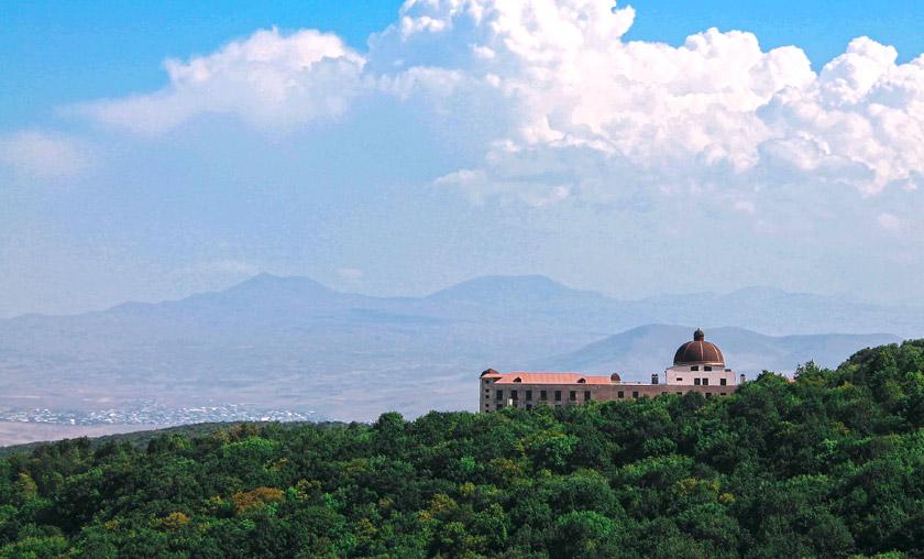 Типовий вірменський краєвид