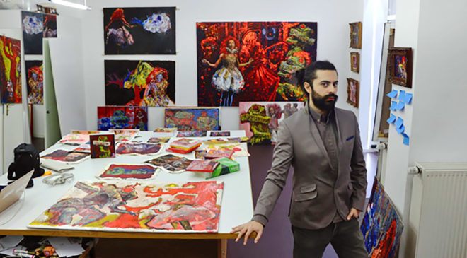 Макс Сір: «Мистецтво – це коли ти робиш матеріальним свій душевний стан»