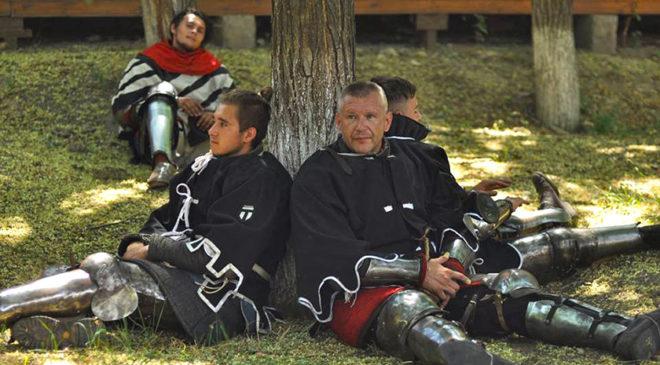 Лицарі на відпочинку