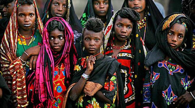 Дівчата племені Водабе
