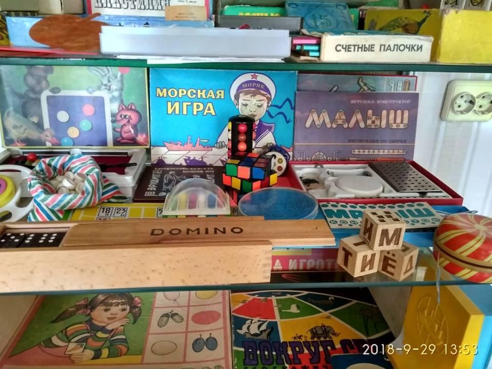 Більшість іграшок у музеї – радянського періоду