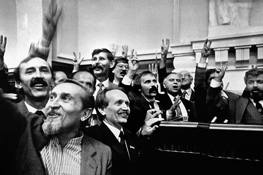 24 серпня 1991 року, Верховна Рада України – Незалежність проголошена!