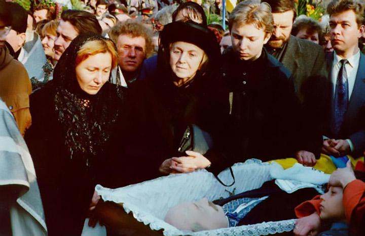 Прощання з В'ячеславом Чорноволом
