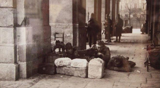 Бойові дії на вулицях Львова у листопаді 1918 року