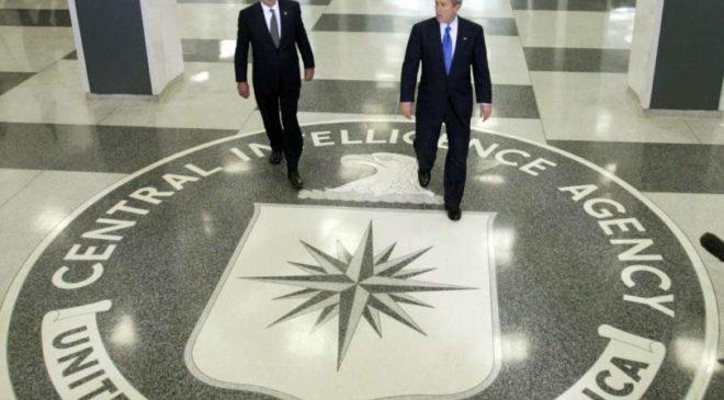 Президент США Джордж Буш і Портер Госс