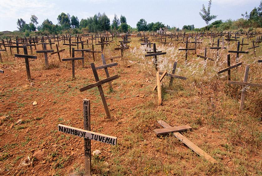 Місце масових поховань жертв різанини