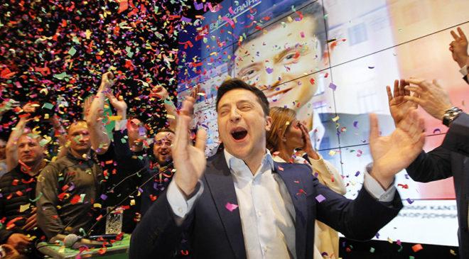 Володимир Зеленський здобув перемогу на виборах Президента України 2019