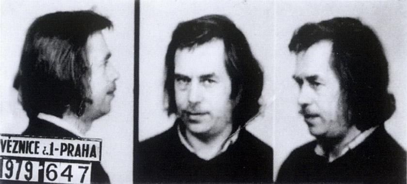 Фото зі справи тодішнього драматурга і майбутнього президента Чехії Вацлава Гавела