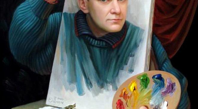 Олег Шупляк. Автопортрет
