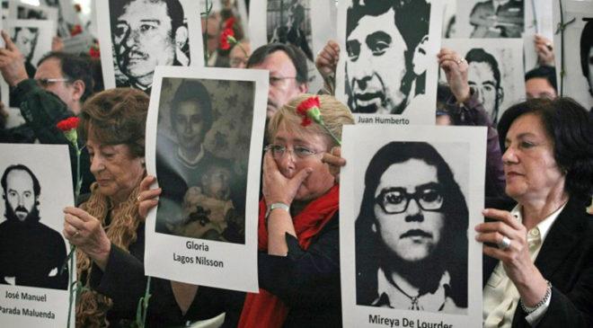 Хода пам'яті жертв диктатури Августо Піночета
