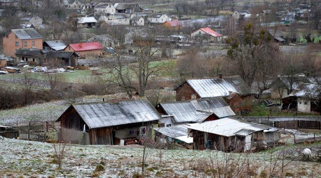 Околиці села Мокротин