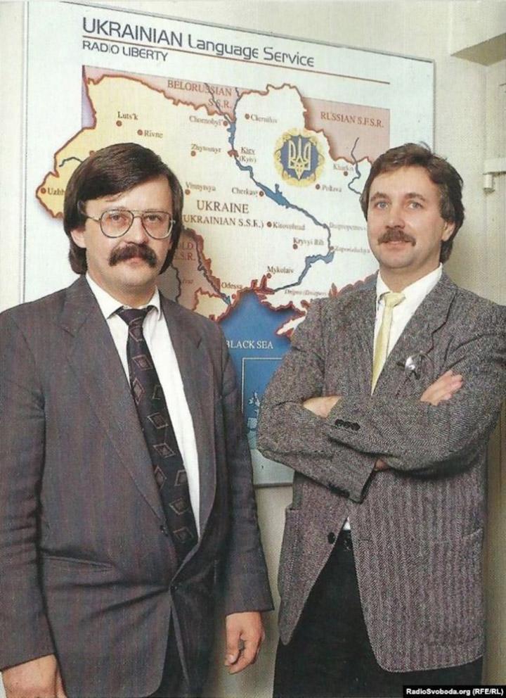 В радійному офісі в Мюнхені