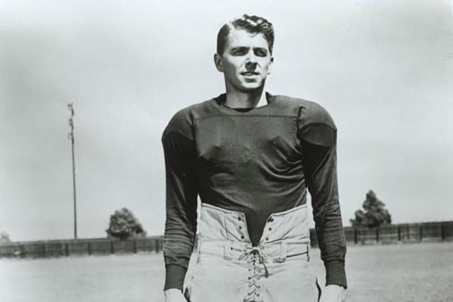 Рональд Рейган - один із найкращих гравців американського футболу