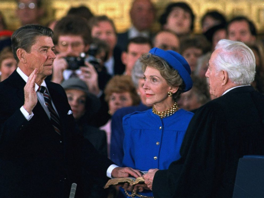 Присяга Рональда Рейгана