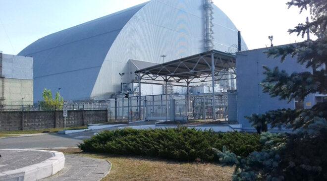Білий цвіт Чорнобиля