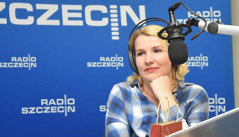 Наші люди на Radio Szczecin