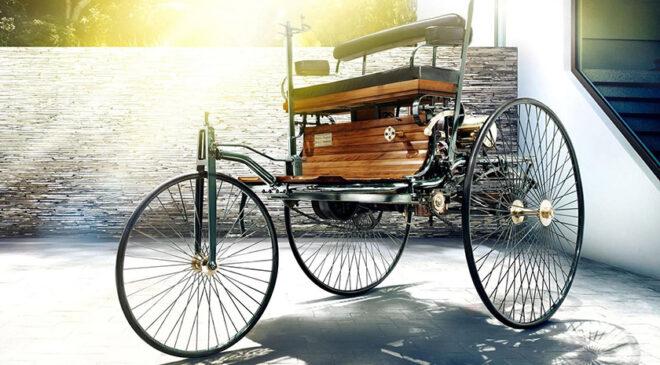 Benz Patent-Motorwagen, на якому Берта Бенц із синами вирішила в першу подорож