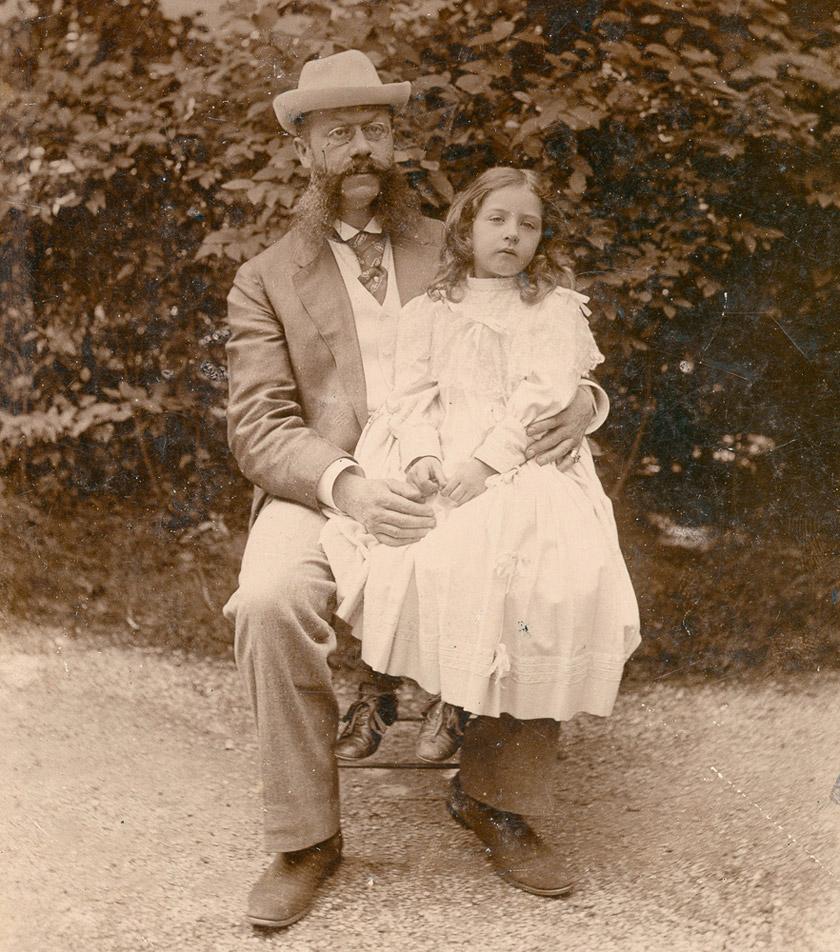 Еміль Єллінек з донькою Мерседес