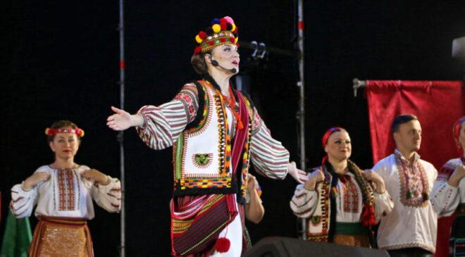 Фрагмент з оперети «Гуцулка Ксеня»